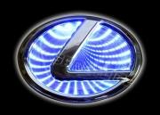 3D led эмблема Lexus