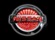 3D led эмблема Nissan