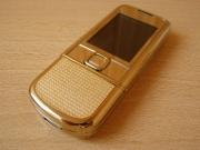 Nokia 8800 ART GOLD ПОЛНОСТЬЮ РУСИФИЦИРОВАННЫЙ